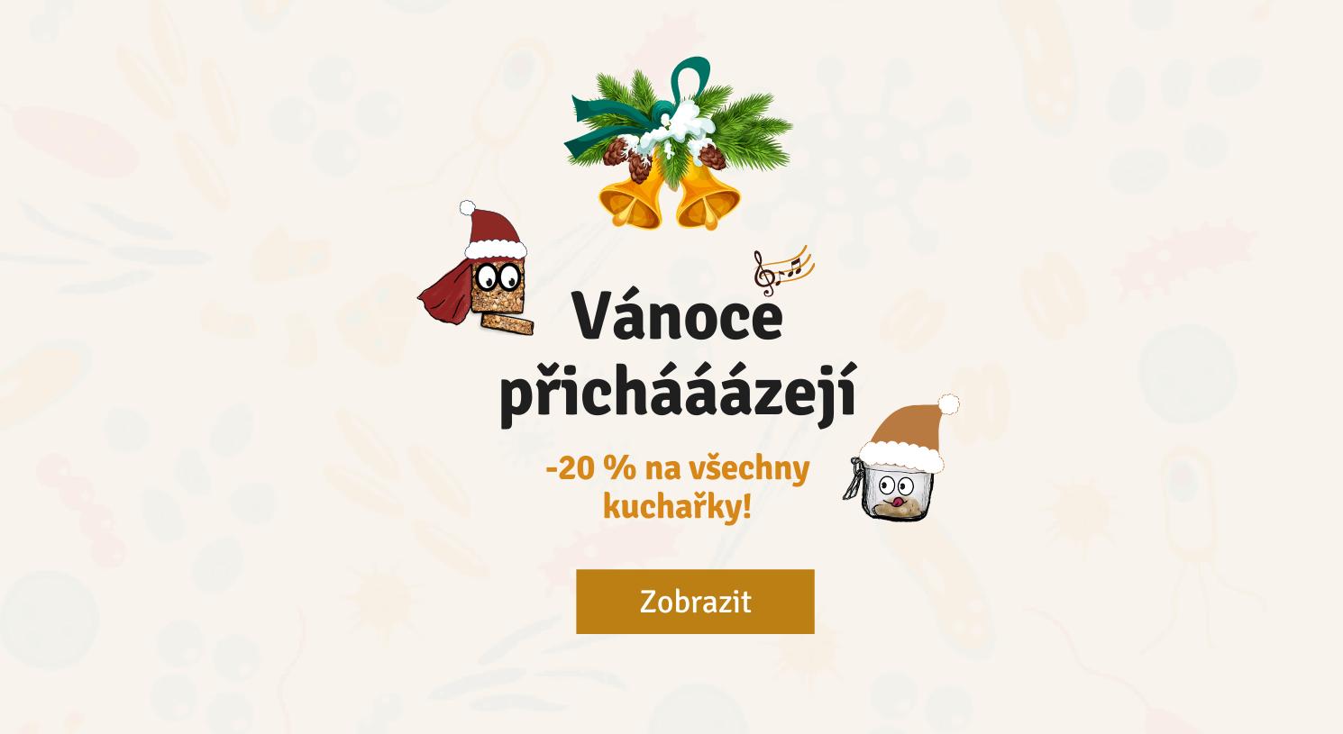 Vánoce přicházejí, -20 % na všechno